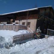 Winterurlaub Lam, Walderhaus im Schnee, Gasthaus Walderhaus